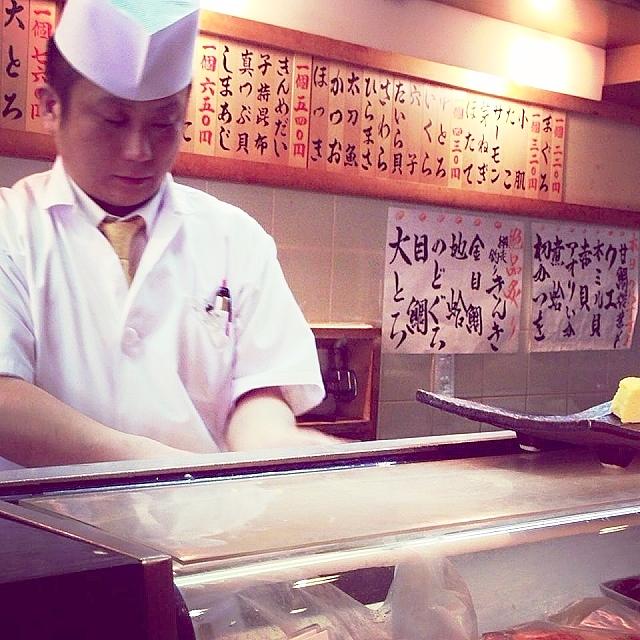 築地のグルメで外せない寿司屋