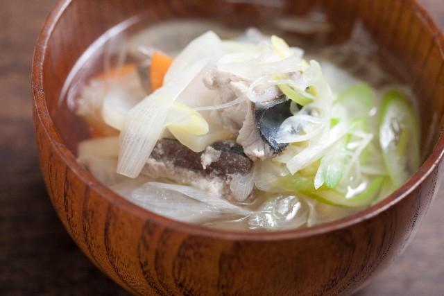 サバの味噌汁