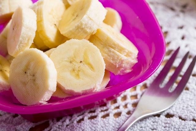 セロトニンを分泌させるバナナ