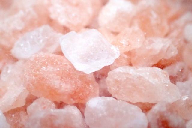 体を温める岩塩