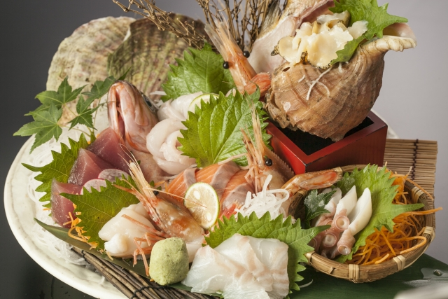 良質のタンパク質 魚介類
