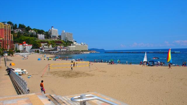 静岡県のオススメ海水浴場 熱海