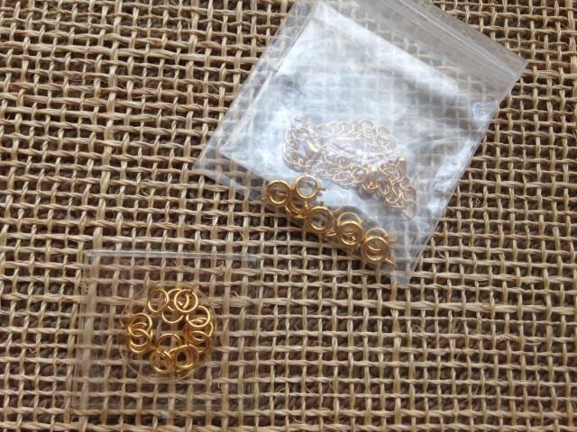 コットンパールに必要な材料と道具 金具