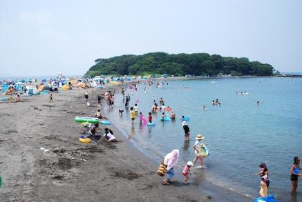 沖ノ島海水浴場 おすすめシュノーケリングスポット